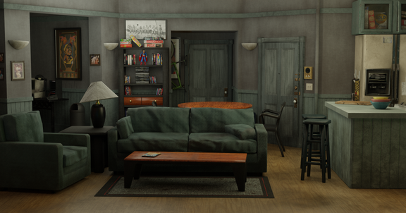 Seinfeld Set (Low Poly)