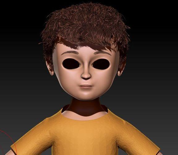 3D Modeling, Character Modeling