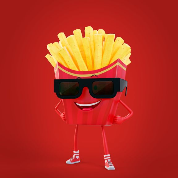 Character Mister Fries