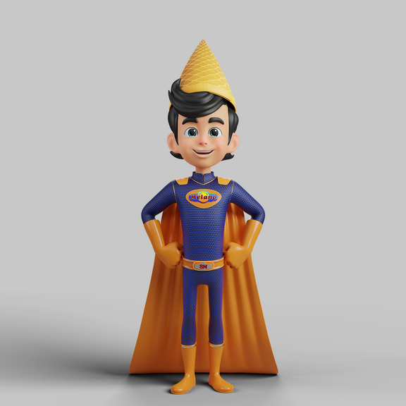 Character Super Melano