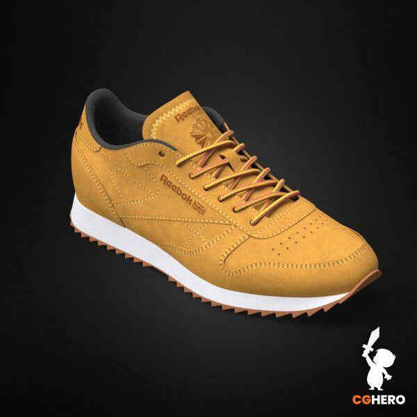 Product Visualisation - Reebok Classic Sneaker rebook classic trainer cgh 001 jpg