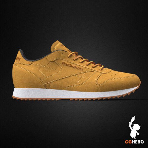 Product Visualisation - Reebok Classic Sneaker rebook classic trainer cgh 002 jpg