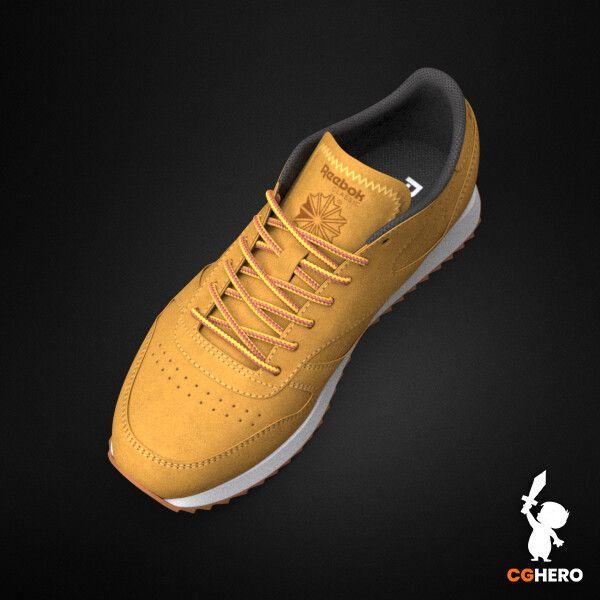Product Visualisation - Reebok Classic Sneaker rebook classic trainer cgh 003 jpg