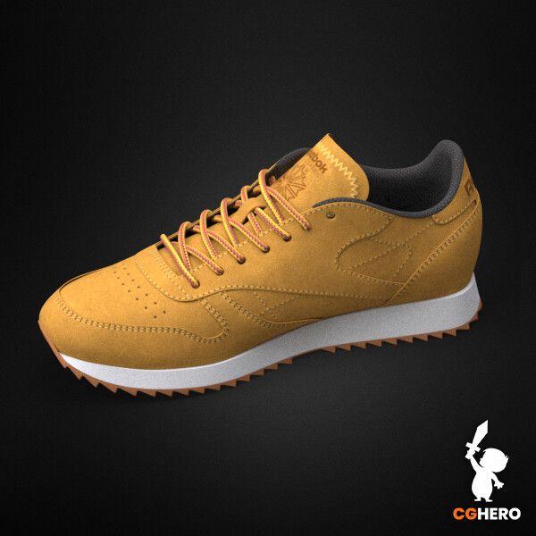 Product Visualisation - Reebok Classic Sneaker rebook classic trainer cgh 004 jpg