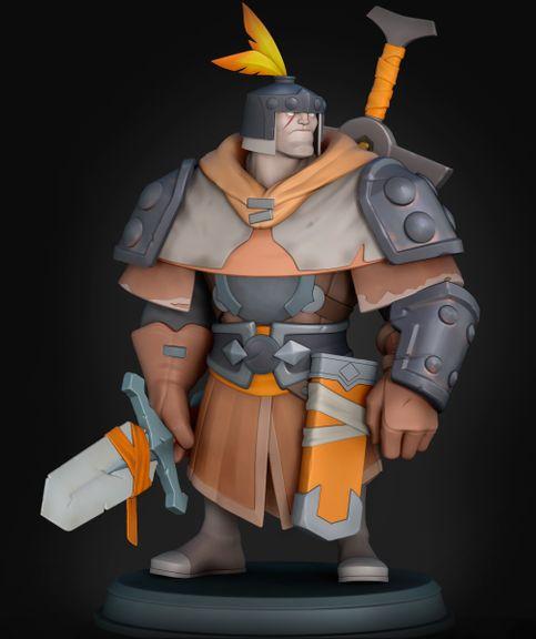 Warrior | Stylized