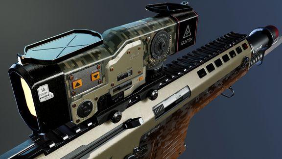Assault Riffle Concept