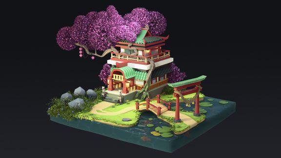 Kitsune temple