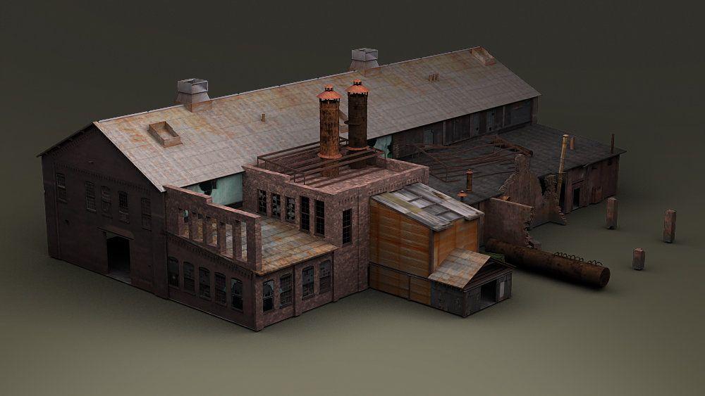 Gameart Buildings dis studio trainstation 002 jpg