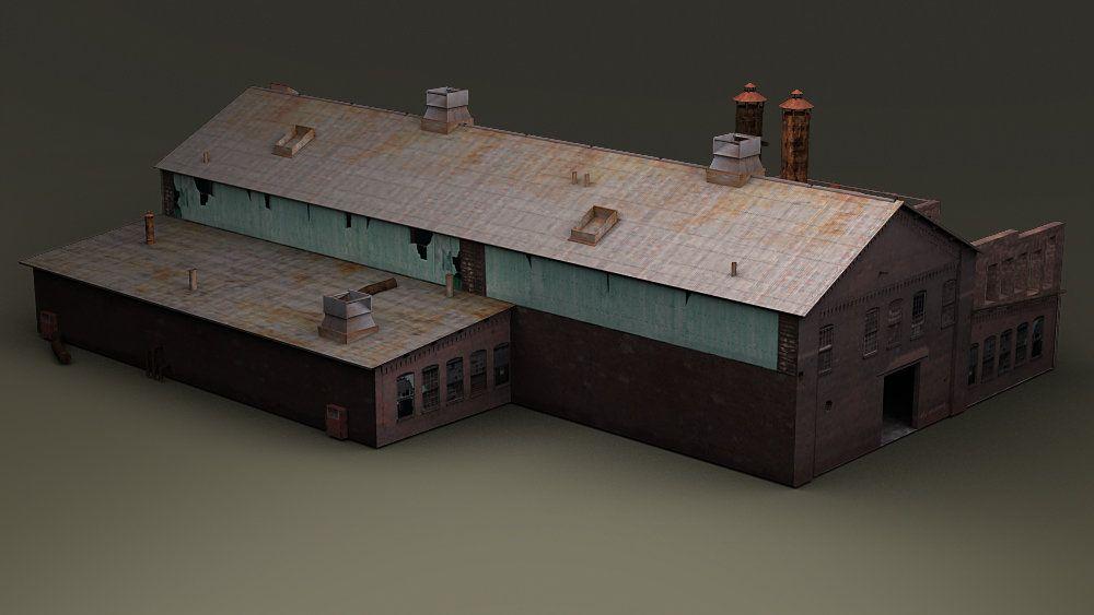 Gameart Buildings dis studio trainstation 003 jpg