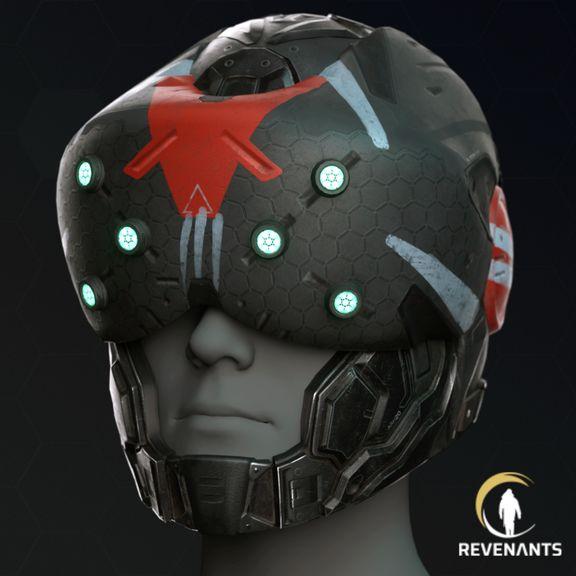 Sci-fi helmet - hard surface prop