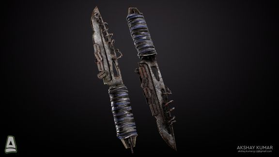 Post Apocalyptic Shiv Weapon