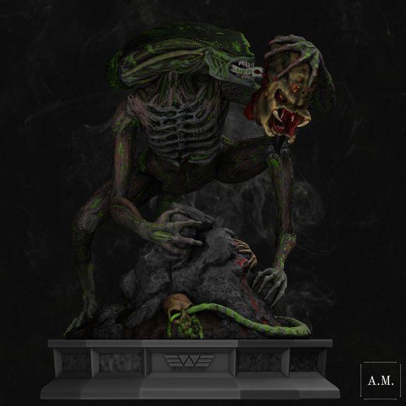 Zombie Xenomorph