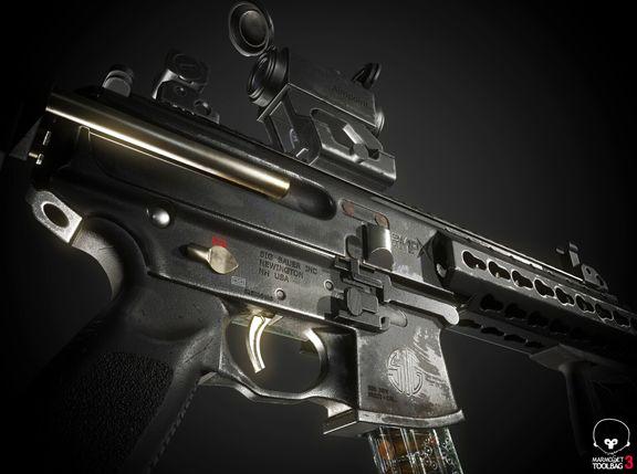Sig MPX Gun