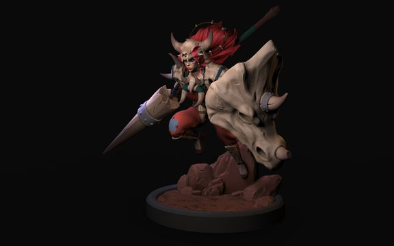Rai'Ki, Slayer of Beasts