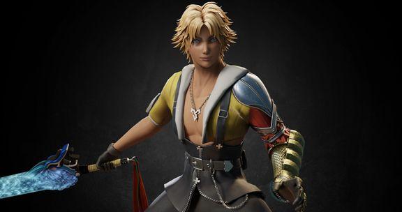 Tidus, from Final Fantasy X (Fanart)